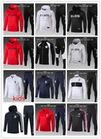 KIDS PSG tracksuit 2018 2019 YOUTH Paris tracksuits 2018 19 ...