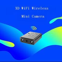 XD WiFi Küçük Kamera HD 1080 P Kızılötesi Gece Görüş Mini Kamera Ev Gözetim IP / AP Kamera Hareket Algılama Uzaktan Alarm Kamera