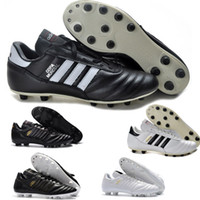 2019 Top Quality Nova Chegada Mens Soccer Shoes Copa Mundial FG Futebol Cleats World Copa Futebol Botas Tacos de Futbol Venda Quente