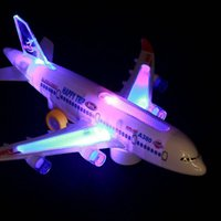 New simulation children' s toy, airliner A380, electric mu...