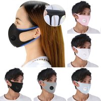 Ice Silk Mask 5 Colors Valve Mouth Face Mask Anti Dust PM2. 5...