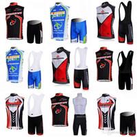 Merida Team Cycling Stickey Jersey gilet (Bib) Pantaloncini Pantaloncini Traspibile Summer Bike Racing Abbigliamento senza maniche Bike Jersey Vestito C2218