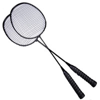 Full Carbon Badminton Racket Double Shot Carbon Fiber Ultra ...