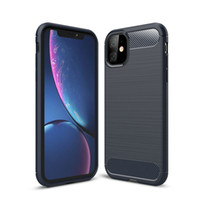 Carbon Fiber Case For iPhone 11 Pro X Xr Xs Max 6 6S 7 8 Plu...