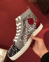 03bbbf0150ad Großhandel 2018 Red Bottoms Sneakers Schuhe Für Männer Casual Damen ...