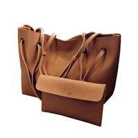 Soft Leather Women Bag Set Brand Fashion Designer Female Sho...
