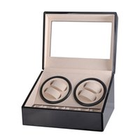 EU AU US UK Automatic Mechanical Watch Winders Storage Box C...