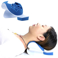 Neck Support Relaxer Shoulder Chiropractic Pillow Traction S...