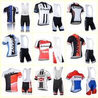 GIANT Team Radfahren mit kurzen Ärmeln Trikot Hosen-Sets Männer Fahrradbekleidung Qualitäts-Sommer Fahrradsport U123003