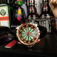 Mens Basel beste Qualität Classic Top Verkauf 2813 Asien 45mmX15.7mm RDDBEX0495 Ritter Rose Gold Uhrwerk Automatik Herren-Uhr