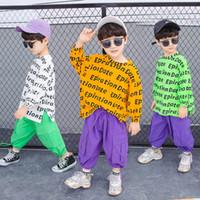 Casual Boys Suits Bambini Tracksuit Set Vestiti Designer Camicia allentata + Abiti da pantaloni Primavera Autunno A7826