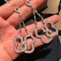 All'ingrosso-Queen Lotus 2019 Nuova zucca delle donne degli orecchini Orecchini gioielli di moda monili di modo per pendientes regalo mujer moda 2019