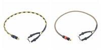 2PCS ROBUSTE 15AWG CUIVRE RCA Clipcord LIGNE DE CONVERSION 50CM CCSNAKECONVERT POUR TATTOO ALIMENTATION AIR MAIL