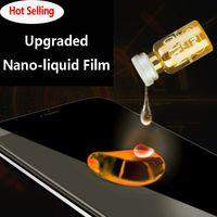 Yükseltildi Sürüm Nano Altın Sıvı Ekran Koruyucu Cam Koruma Nano Tech Premium Kalite (tüm Marka Mobilephone Uygun)