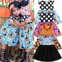 Criança crianças menina Halloween princesa Partido dos desenhos animados Pageant Tutu roupas vestido