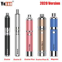 Yocan Evolve Kit 2020 Versão Evolve D / Evolve Além disso XL Kit / Yocan Magneto Wax Herbal Concentrado Vape Pen vaporizador Kit VS UNI Authentic