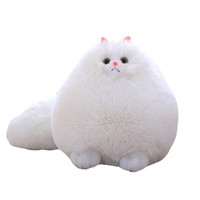 New Plush Fluffy Cats Persian Cat Toys Pillow Soft Stuffed A...