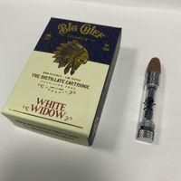 Neueste Big Chief Vape Pen-Patronen Geschenk-Verpackung Wood Tip-Keramikspulen leeren Wagen Wachs Vaporizer dickes Öl 510 Gewinde e CIGS Atomizers
