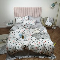 Soft tencel Bed Sheet Pillowcase Duvet cover set Bedding set...