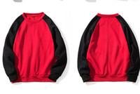Diseñador para hombre Sudadera informal Color Hit Sudaderas con capucha hombre empalmado Cómodo deporte Cuello redondo Primavera y otoñoMensera para hombre