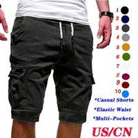 الرجال السراويل الرجال البضائع الصيف عداء ببطء سراويل قصيرة الرجال عارضة مريحة جيوب التكتيكية الملابس في الهواء الطلق