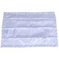 Multicolor 48 * 74cm # 75280 (gris) 48 * 74cm caja de la almohadilla del diseño simple emulación de satén de seda funda de almohada individual cubierta de almohadas