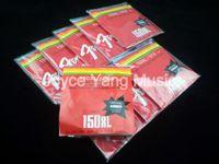 10 مجموعات من 150XL الغيتار الصوتية سلاسل الفولاذ المقاوم للSteelPhosphor برونزية 1 6TH سلاسل 012-053 شحن مجاني