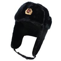 Distintivo Lei Feng prova cappello del vento e cappello impermeabile esterno per uomini e donne russo cappello caldo