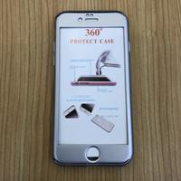 فاخر 360 درجة كاملة يغطي حالات الهاتف للحصول على اي فون XS MAX XR X 8 7 زائد الهجين الشاشة الزجاج المقسى حامي يغطي سامسونج