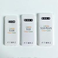 ل2019 NEW فون برو 11 XR س XS ماكس 8 7 6 بالإضافة إلى حالة واضحة لسامسونج S9 S10 NOTE 8 9 10 ضئيلة غطاء شفاف تبو لينة