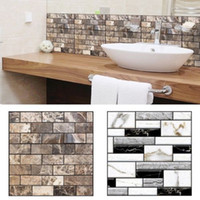 1 X (30 x 30cm Self Adhesive Tile Wall Sticker 3D Decal DIY ...