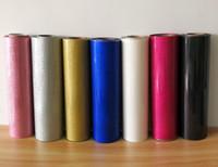 """Freies Verschiffen 1 Blatt 12 """"x40"""" / 30cmx100cm Glitter Wärmeübertragung Vinyl Wärmepresse T-Shirt Bügeleisen auf HTV-Druckverkauf!"""