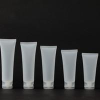 5G 10G 15G 30G 50G 100ML إفراغ الزجاجات البلاستيكية مستحضرات التجميل لوسيون أنابيب شامبو منظف الوجه ماكياج عينة الحاويات لينة أنبوب زجاجة فيال