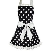 Lovely Sweetheart Retro Kitchen Aprons for Woman Girl Cotton...