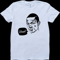 The Wire Marlo White, t-shirt da uomo realizzata in denim con t-shirt camiseta