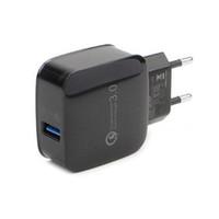 Быстрая зарядка 3.0 USB 5V 3A мобильный телефон стены дома путешествия AC быстрое зарядное устройство адаптер США / ЕС Plug