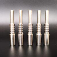 Nuevo diseño de uñas Titanio Multi Tamaño de la astilla de color titanios Consejo Nector coleccionista de accesorios de fumar envío rápido 13bs E19