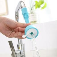 Mutfak Su tasarruflu musluk meme genişletilmiş su Filtre Mutfak Aracı 3color Watersaving musluk kutu döndürme duş başlığı ABS, 16x6x6cm
