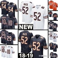 d941e6da7 2019 Custom Game Chicago Bear Jersey 29 Tarik Cohen 89 Ditka 40 Gale ...