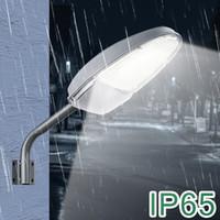 24W LED Street Area Lighting 2400LM 144 LED 6500K zmierzch do świtu Wodoodporne IP65 Bezpieczeństwo Floodlight Yard Wall Post Outdoor Lights