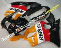 Honda CBR600 F4 99 00 CBR 600 1999 2000 CBRF4 CBR-600 Motosiklet Üstyapı Turuncu Beyaz Siyah Kırmızı Fairing (Enjeksiyon Kalıp)