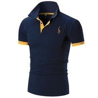 Shirt à manches courtes pour hommes de designer Polo Londres Mode Broderie Polo Chemise pour hommes Polo Lâche de haute qualité Couleur unie
