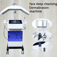 hidra profesional dermoabrasión / descamación de agua / oxígeno inyectar máquina hidráulica para la descamación de la piel salón Rejuvenecimiento Facial o uso en el hogar