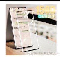 150D Curved Full Cover Tempered Glass on the For Samsung Galaxy Note 10 Pro 10+ S10 Plus S10E S10 Screen Protective Glass Film newstore news