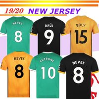 NEVES Wolves RAUL home away Third Soccer Jerseys 19 20 Wolve...