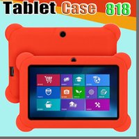 """818D Anti Dust Bambini Bambino Soft Silicone Custodia in gomma in silicone per 7 """"7 pollici Q88 Q8 A33 A23 Android Tablet PC Mid"""