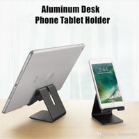 For iPhone iPad Aluminum Alloy Phone Desk Stand Holder Metal...