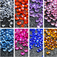 5000pcs 4. 5mm Tiny Diamond Confetti Acrylic Crystals Wedding...