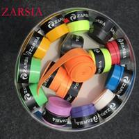 60 pecs / lot ZARSIA pegajosa viscosa Overgrip aperto de tênis regulares Badminton Grip, overgrips ténis, ténis de produto