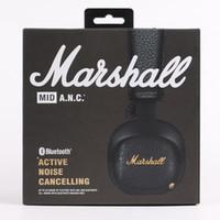 Marshall Mid ANC активный шумоподавления On-Ear Беспроводные Bluetooth наушники, черный